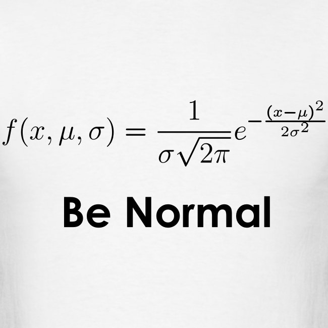Be Normal (Distribution)