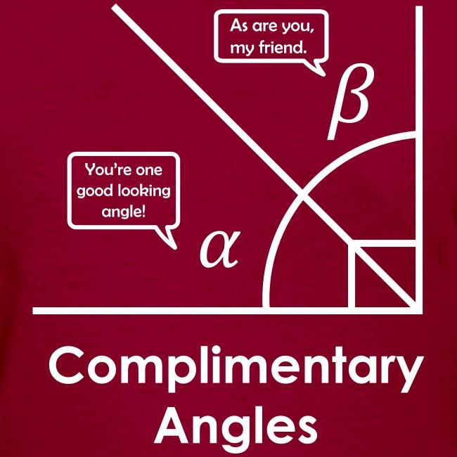 Complimentary angles (pun)