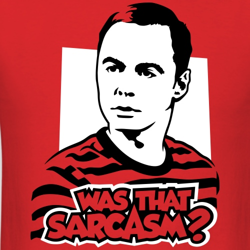 The Big Bang Theory: Was that sarcasm?