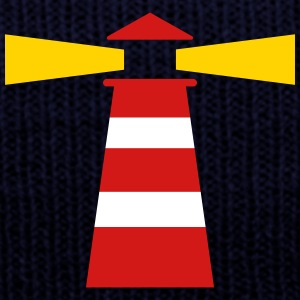 Lighthouse Caps - Knit Cap with Cuff Print