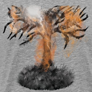 Lightning & Tree - Men's Premium T-Shirt