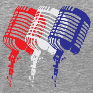 Merican Let the Music Do the Talking - Men's Premium T-Shirt