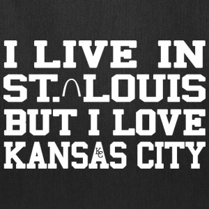 Live St. Louis Love Kansas City Bags & backpacks - Tote Bag