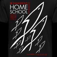 Design ~ HOME SCHOOL (Multicolor on Black) Version 2