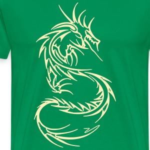 Dragon Warrior  - Men's Premium T-Shirt