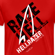 Design ~ RAZE HELL (Multicolor on Red) Version 2