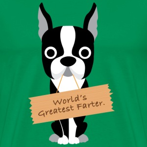 World's Greatest Farter Men's T-Shirt - Men's Premium T-Shirt