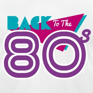 back to the 80's T-Shirts - Men's T-Shirt by American Apparel