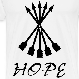 Hope Arrow - Men's Premium T-Shirt