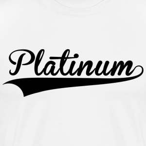Platinum Culture White Tee - Men's Premium T-Shirt