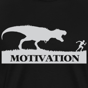 Motivation T-Rex Chase - Men's Premium T-Shirt