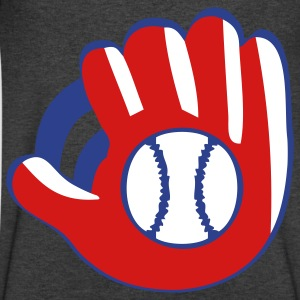 baseball glove - Men's V-Neck T-Shirt by Canvas