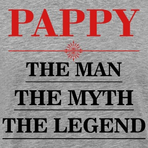 Papaw - The Man The Myth The Legend T-Shirts - Men's Premium T-Shirt