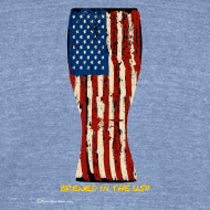 Design ~ Brewed In The USA Unisex Tri-Blend T-Shirt