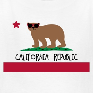 California Fun Flag T-shirt Kids' Shirts - Kids' T-Shirt