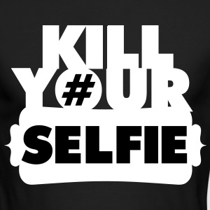 Kill Your Selfie Long Sleeve Shirts - Men's Long Sleeve T-Shirt by Next Level