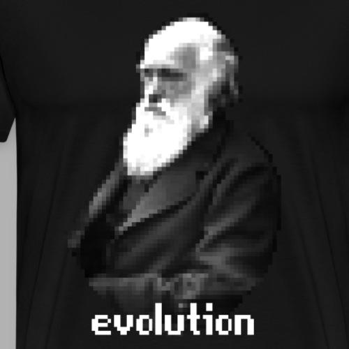 Darwin Evolution Pixels