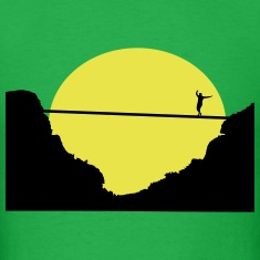 Slacklining, Highline T-Shirts