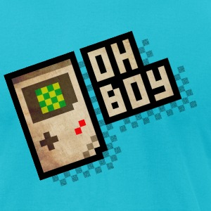 Oh Boy T-Shirts - Men's T-Shirt by American Apparel