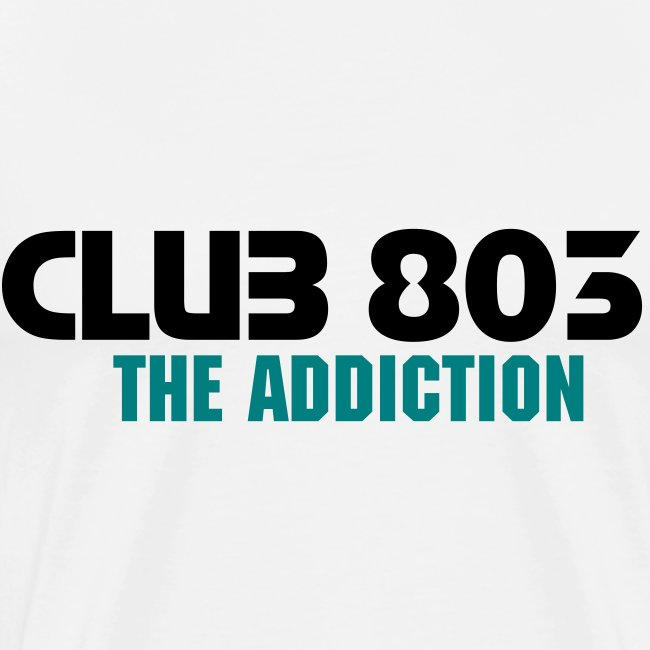 CLUB 803 THE ADDICTION Men T-SHIRT (2)