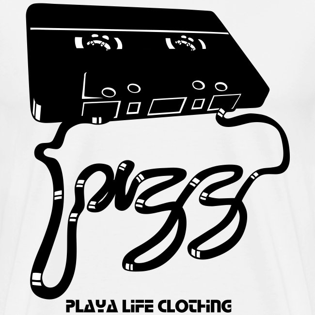 PLAYA LIFE CLOTHING TAPE/JAZZ  T-SHIRT (1)