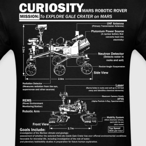 Curiosity Mars Rover shirt - Men's T-Shirt