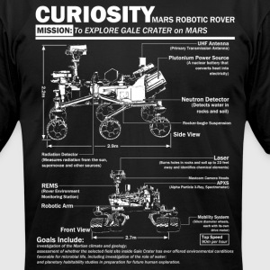 Curiosity Mars Rover - Men's T-Shirt by American Apparel