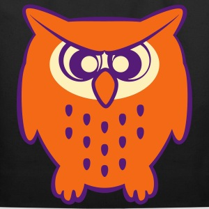 Cute Angry Owl Bags & backpacks - Eco-Friendly Cotton Tote