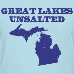 Great Lakes Unsalted Blue Women's T-Shirts - Women's T-Shirt