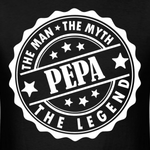 Pepa-The Man The Myth The Legend T-Shirts - Men's T-Shirt
