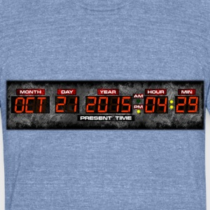 Save the Date Men's Tri-Blend T-shirt - Unisex Tri-Blend T-Shirt by American Apparel