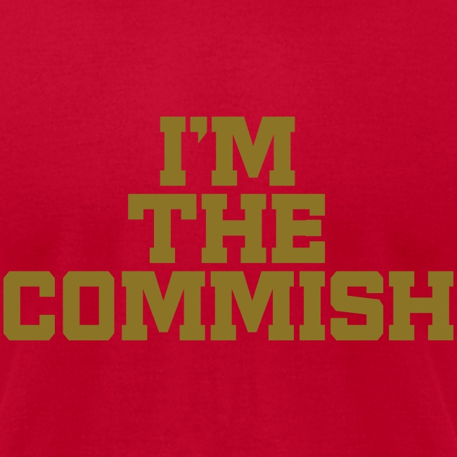 I'm the Commish
