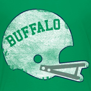 Vintage Throwback Buffalo Football Helmet Kids' Shirts - Kids' Premium T-Shirt