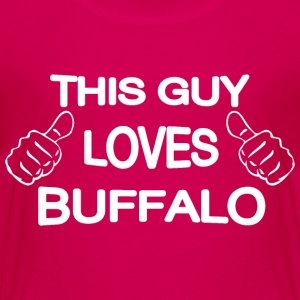 This Guy Loves Buffalo Baby & Toddler Shirts - Toddler Premium T-Shirt