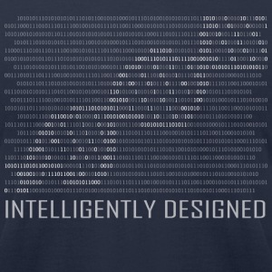 Intelligently Designed Binary Code T-Shirt - Men's T-Shirt by American Apparel