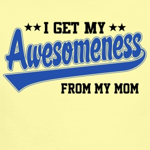 Awesomeness From My Mom Baby & Toddler Shirts - Short Sleeve Baby Bodysuit