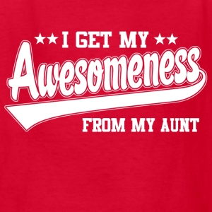 Awesomeness From My Aunt Kids' Shirts - Kids' T-Shirt
