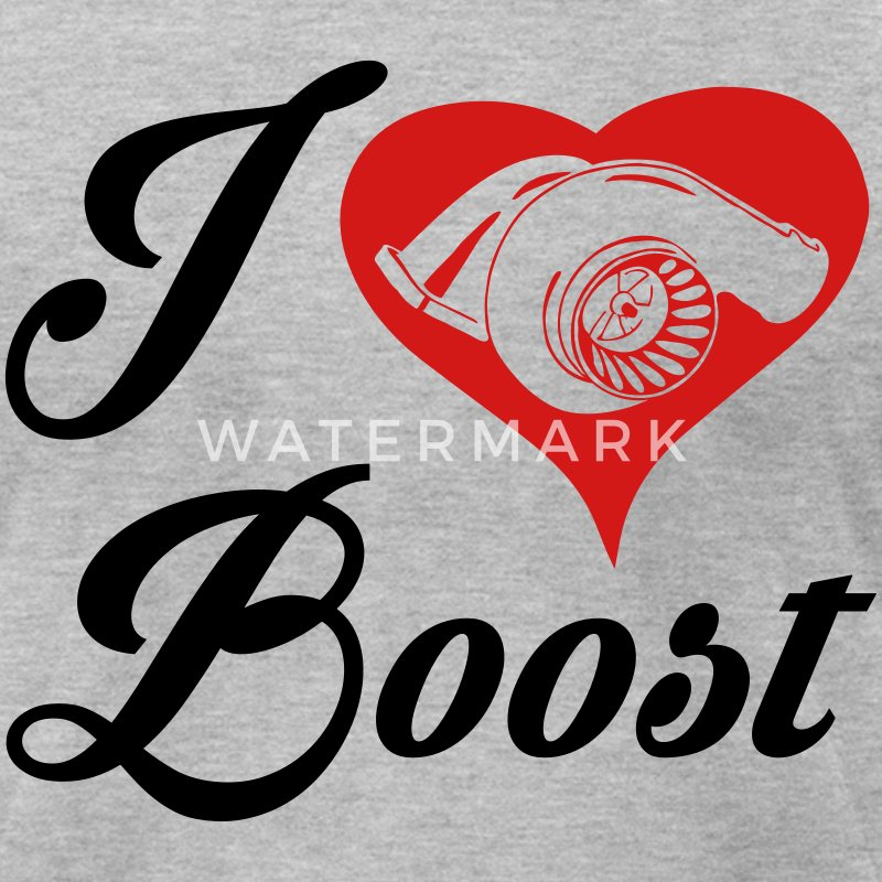 i love Boost T-Shirts - Men's T-Shirt by American Apparel