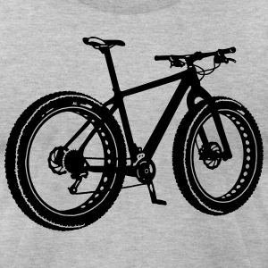 fatbike T-Shirts - Men's T-Shirt by American Apparel