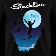 Design ~ Slack line in the moonlight
