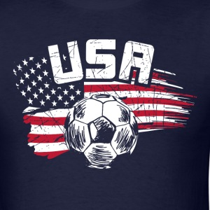 USA-SOCCER - Men's T-Shirt