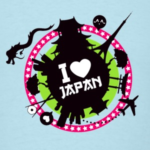 I love Japan - Men's T-Shirt
