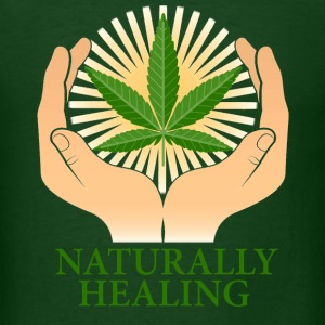 Naturally Healing - Men's T-Shirt
