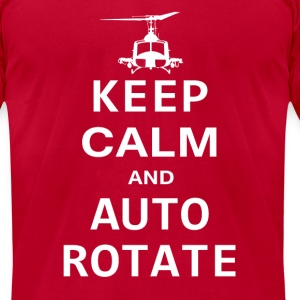 Keep Calm And Auto Rotate T-Shirt - Men's T-Shirt by American Apparel