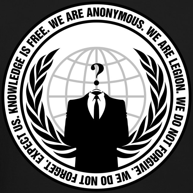 We Are Anonymous - MEN
