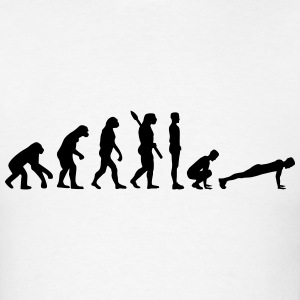 Evolution Burpees T-Shirts - Men's T-Shirt
