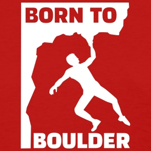 Born to boulder Women's T-Shirts - Women's T-Shirt