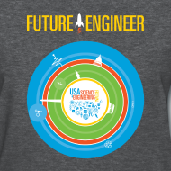 Design ~ Women's Future Engineer T-Shirt (Front and Back Design)