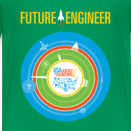 Design ~ Kids Future Engineer T-shirt (Front and back Design)