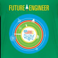 Design ~ Kids Future Engineer T-shirt (Front and back Design)